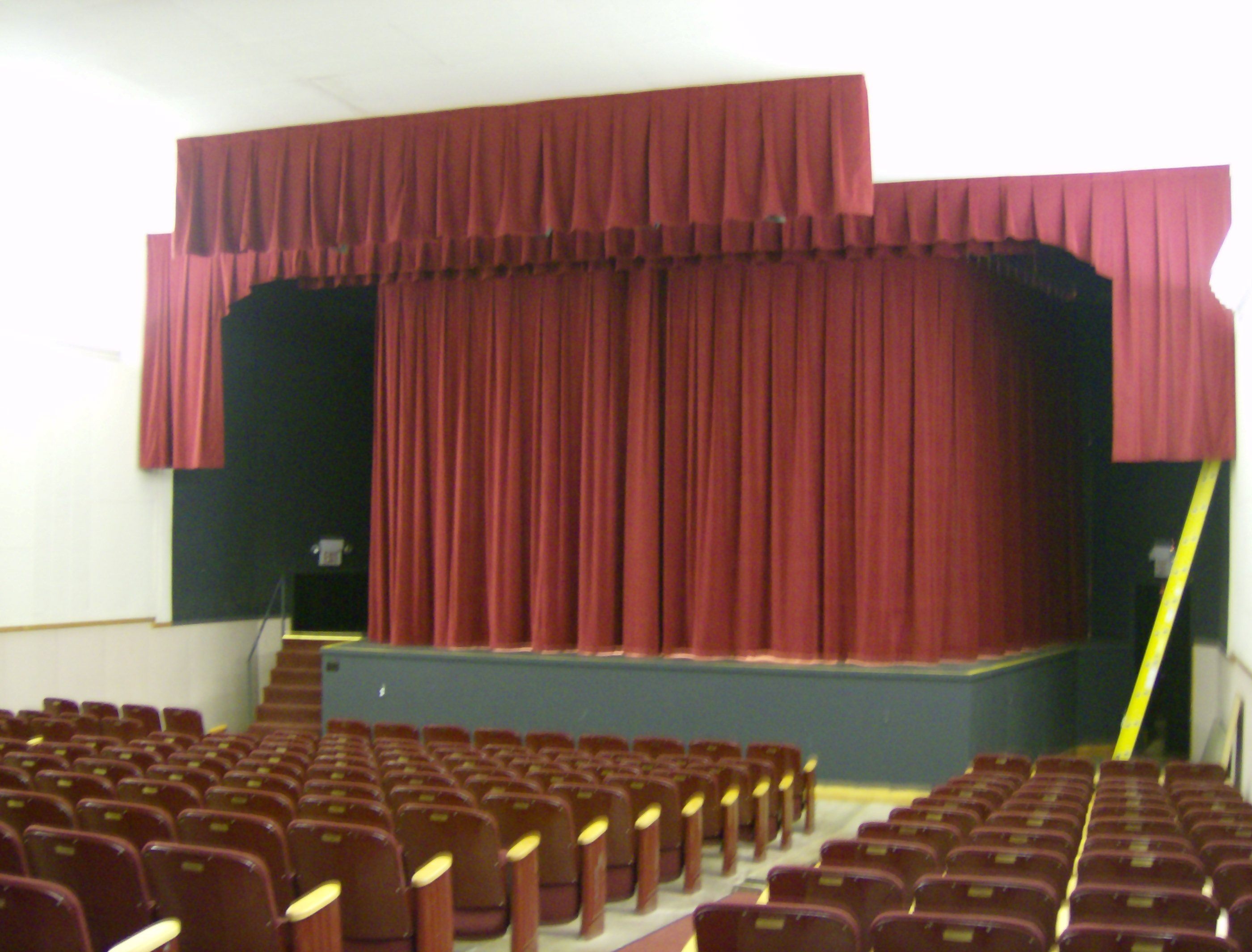 Stage Curtains North State Blinds Amp Draperies